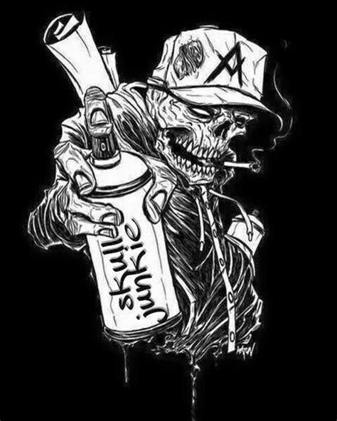 Pin by Vance B on Skulls in 2019 | Graffiti tattoo, Graffiti styles, Skull art