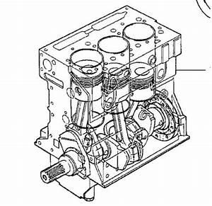 Perkins Ad3 152 Short Motor Assy