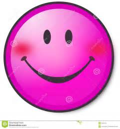 Pink Smiley-Face