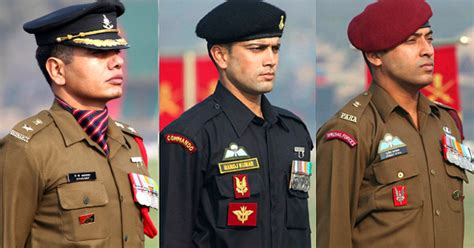 uniforms   indian army     earn