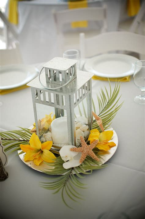 #yellow table setting # yellow beach reception Beach