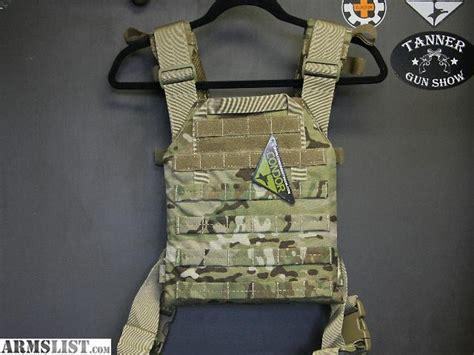 armslist  sale level iv ceramic plate body armor vest package