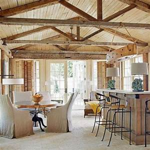 Kitchen Designs With Wooden Beams