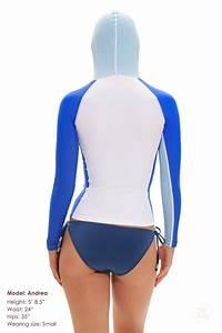 Rash Guard Size Chart Rash Guard Hoodie Swim Tee Shirts Long Sleeve