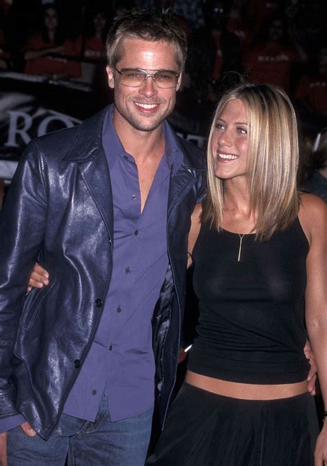 Aniston and pitt were married for a few years before aniston filed for divorce. Everyone is hoping Jennifer Aniston and Brad Pitt will get ...