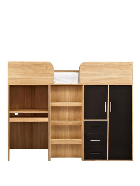 Wardrobe With Drawers Underneath by Best 25 Mid Sleeper Bed Ideas On Mid Sleeper
