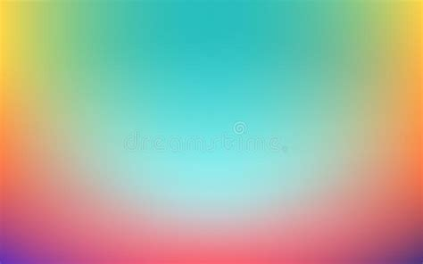 Simple Gradient Vibrant Colorful Abstract Background For