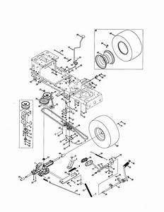Craftsman Model 247288842 Lawn  Tractor Genuine Parts