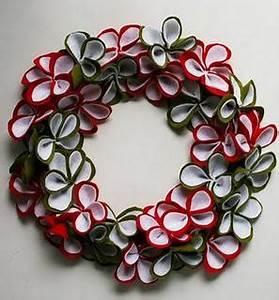 fabriquer votre couronne de noel paperblog With tapis chambre bébé avec couronne de noel fleur