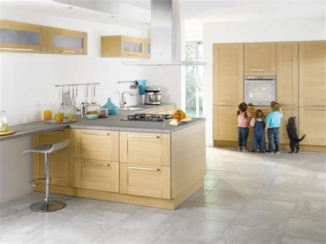 cuisine en bois clair 10 meubles de cuisine tendance poalgi