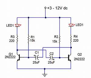 Led Flasher 2 - Led And Light Circuit