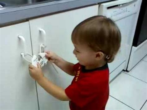 safety 1st push n snap cabinet lock not so safe
