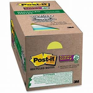 post it super sticky bora bora notes cabinet pk mmm With kitchen cabinets lowes with reusable sticker pad