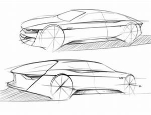 Sketching cars, proportions & nice perspectives – www