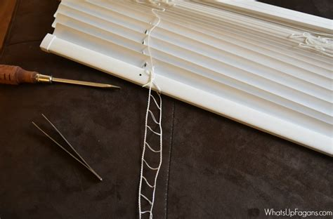 how to fix blinds the ridiculously easy way to fix broken mini blinds your