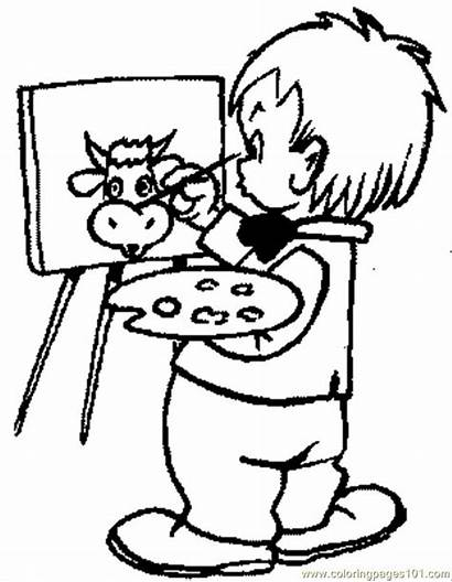 Coloring Pages Painting Coloringpages101