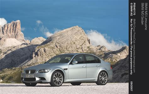 Bmw M3 Sedan (e90) Specs & Photos