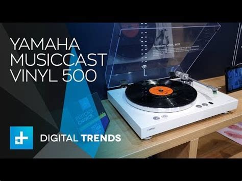 yamaha musiccast vinyl 500 yamaha musiccast vinyl 500 turntable on at ifa 2018