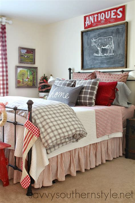 guest bedroom savvy southern style farmhouse guest room Farmhouse