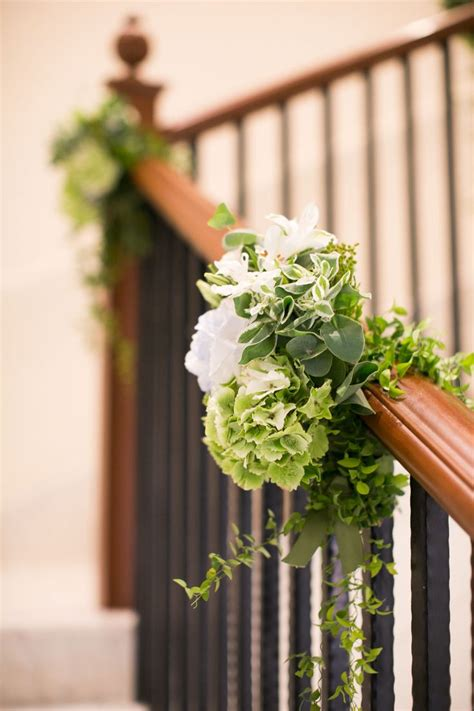 banisters flowers 25 best ideas about wedding staircase decoration on