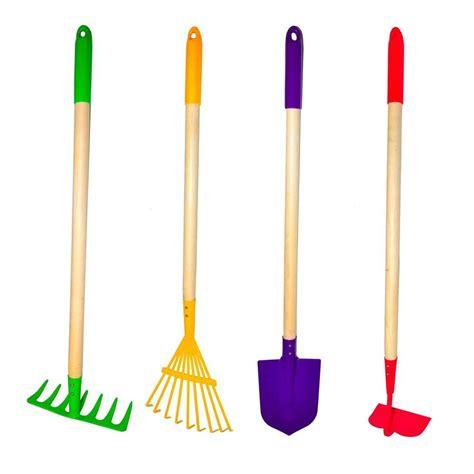 garden tools equipment g f big kids garden tool set 4 piece 10018 the home depot
