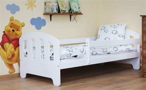 Philip 160x80 Toddler Bed White+ Mattress
