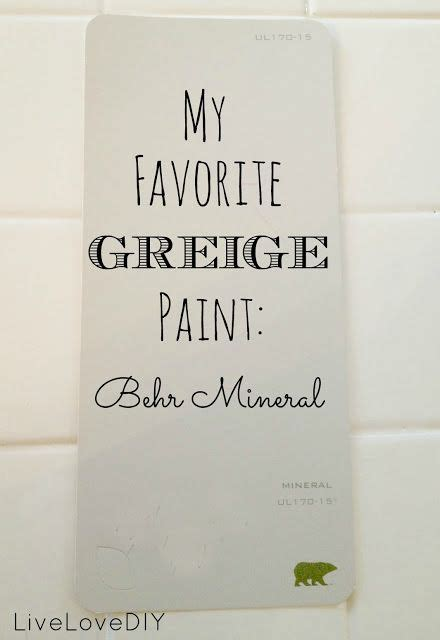 its my new favorite greige paint the perfect blend of