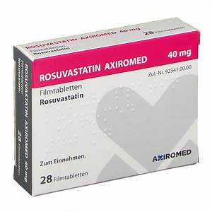 Rosuvastatin Axiromed 40 Mg Filmtabletten 28 St
