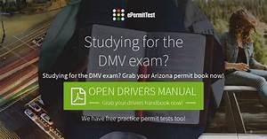 Arizona Drivers Manual  Az Permit Book