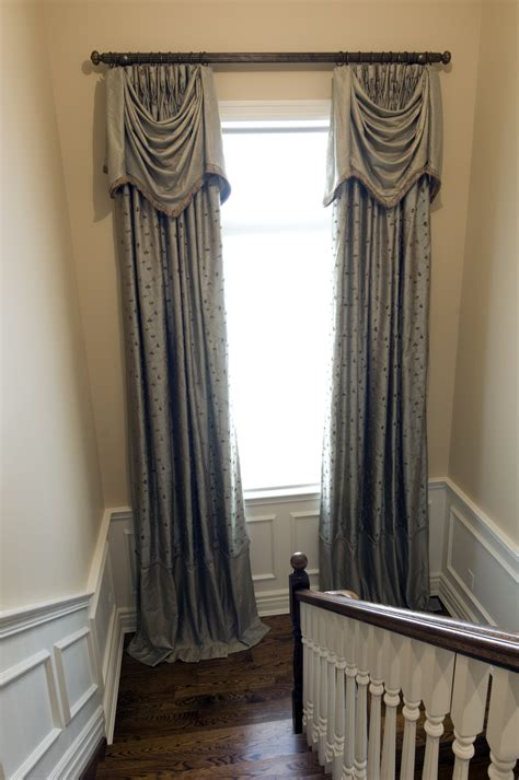window drapes custom window treatments beautifully detailed lumar