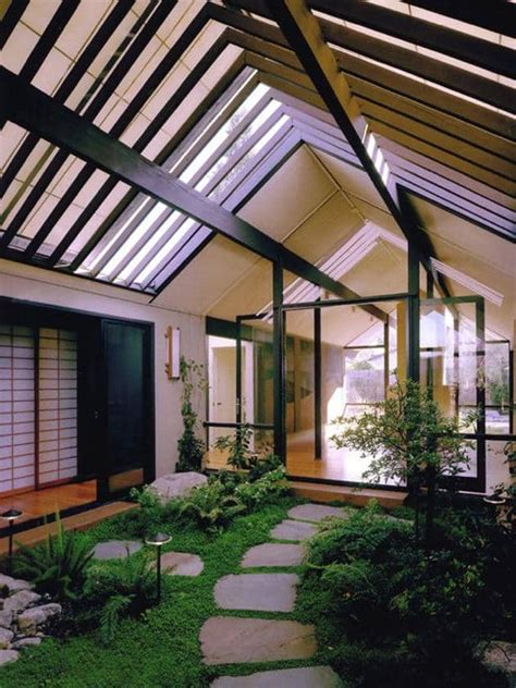 houses with atriums inside 5 mid century houses atriums perfect to relax