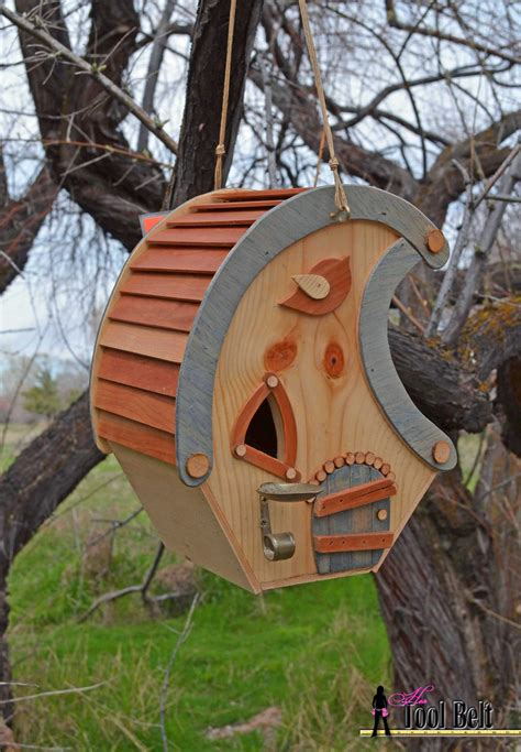 build wood bar stools whimsical birdhouse