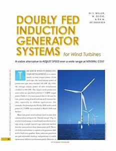 Pdf  Doubly Fed Induction Generator Systems For Wind Turbines