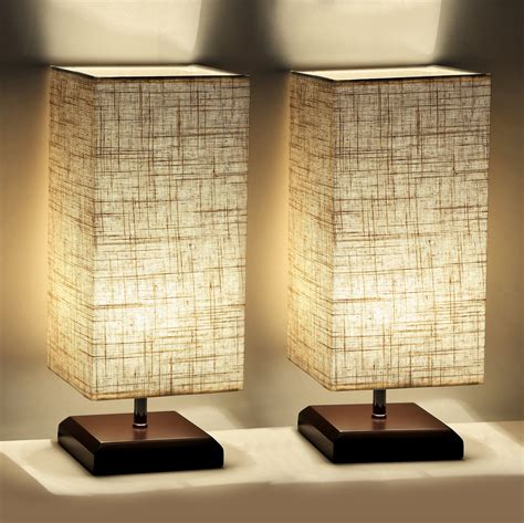 bedroom table lamps contemporary set of 2 table lamps for bedroom living room bedside 14438   A1PTRw qznL