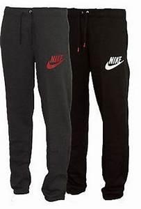 New Mens Nike Fleece Joggers Tracksuit Bottoms Track