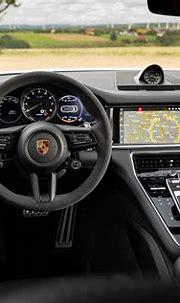 Porsche Panamera Sport Turismo hybrid interior & comfort ...