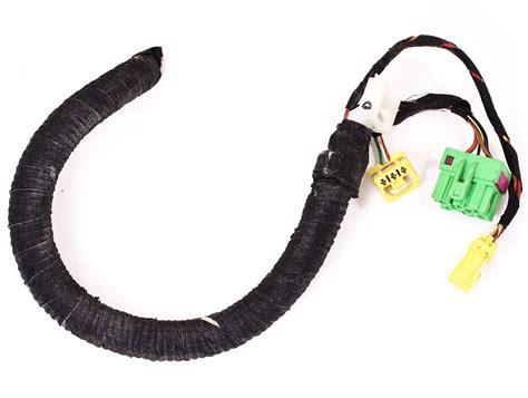 lh front heated seat wiring plugs pigtail vw jetta golf gti mk4 beetle harness ebay