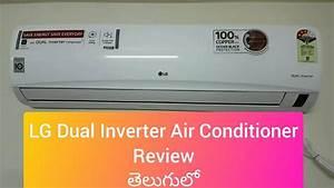 Lg 1 5 Ton Dual Inverter Air Conditioner  Copper Condenser