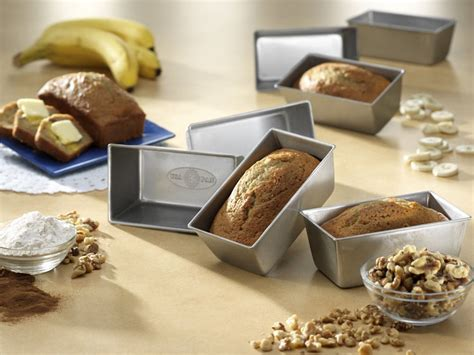 loaf pan usa pans mini bakeware bread baking supplies breadtopia coating nonstick release quick