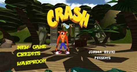 crash bandicoot fan game crash bandicoot for pc unity community