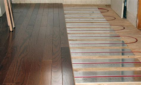 Heat Strips Under Laminate Flooring