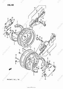 Suzuki Atv 1991 Oem Parts Diagram For Front Wheel Brake  Model H  J  K  L
