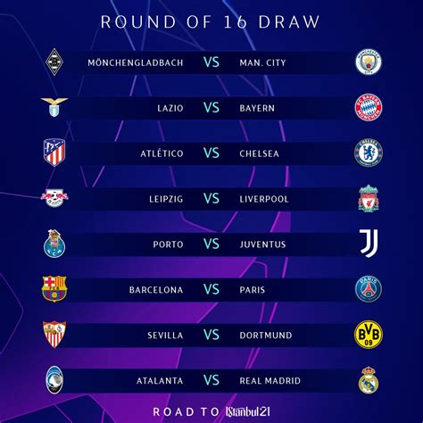 UEFA Champions League last-16 draw: PSG vs Barcelona ...