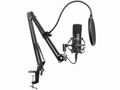 Microphone Streamer Sandberg Usb Kit Hardware Boom