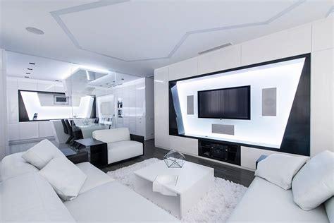 deco chambre d hote décoration salon futuriste