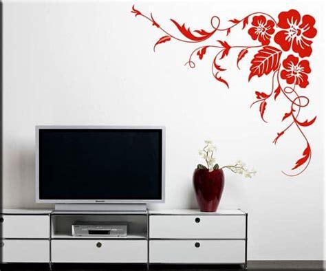 wall stickers fiori adesivi da parete angolo fiori