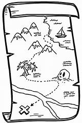 Treasure Map Coloring Pages Printable Pirate Maps Outline Supercoloring Google Es Egypt Version Inform Websites Through Youngsters Numerous Subjects Categories sketch template