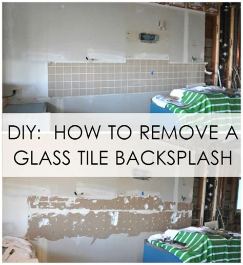 removing tile backsplash homestartx