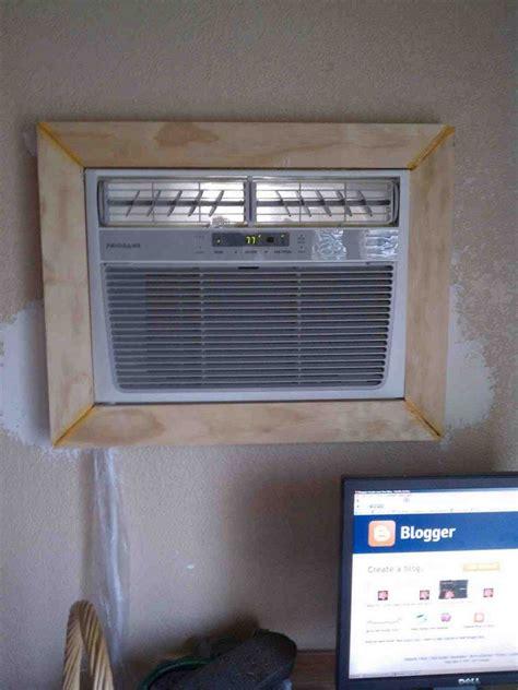wall ac cover decor ideas