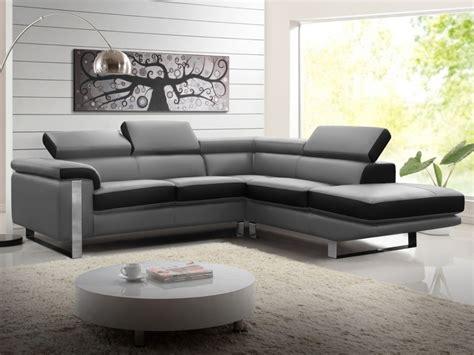 vendre un canapé canapé d 39 angle en cuir de vachette 4 coloris mystique